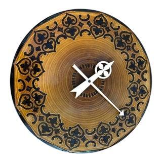 Mid-Century Modern Bitossi Raymor Howard Miller Clock For Sale