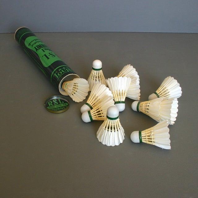 Vintage Badminton Shuttlecocks in Tube - Set of 12 - Image 4 of 7