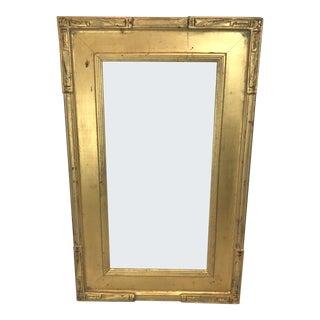 Vintage Gold Gilt Wooden Frame For Sale