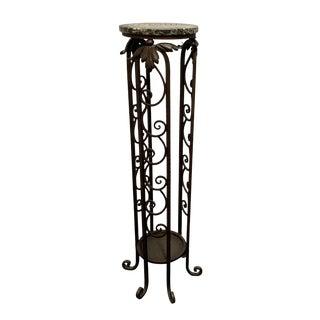 Antique French Art Deco Pedestal For Sale