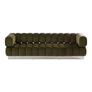 2016 USA Todd Merrill Custom Originals The Extended Back Tufted Sofa For Sale