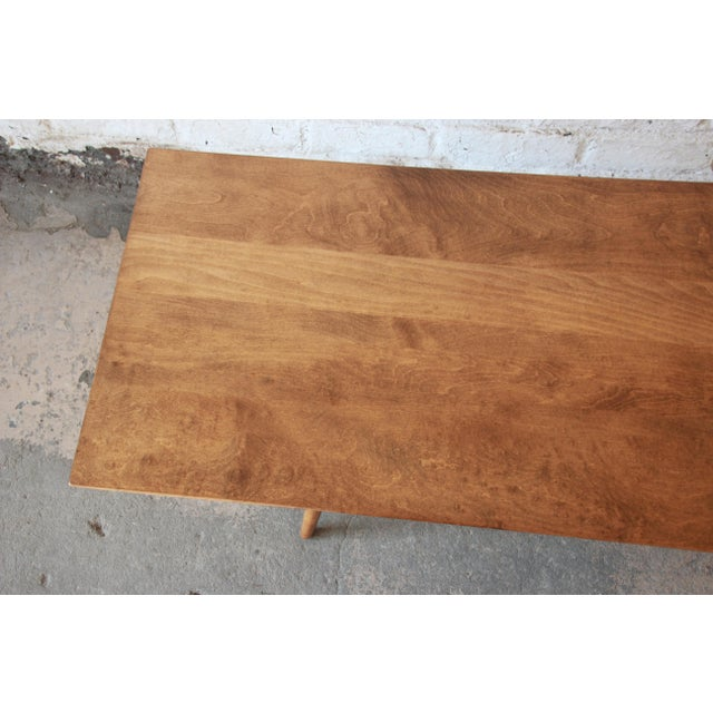 Paul McCobb Planner Group Birch Coffee Table For Sale - Image 10 of 11