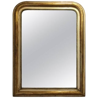 French Gilt Louis Philippe Mirror, Circa 19th Century For Sale