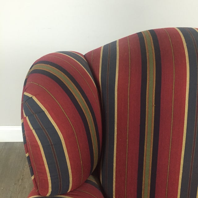 Kravet Club Chairs - A Pair - Image 10 of 11