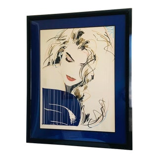 1980s Dennis Mukai Pencil Signed Limited Edition Serigraph For Sale