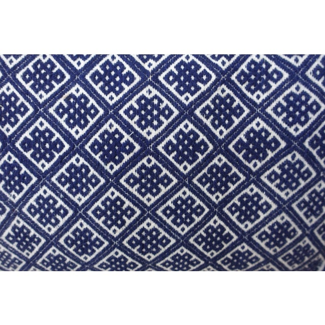 Pair of Cotton Woven Hmong Pillows. - Image 3 of 6