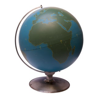 Large-Scale Vintage Military Globe / Activity Globe by a.j. Nystrom For Sale