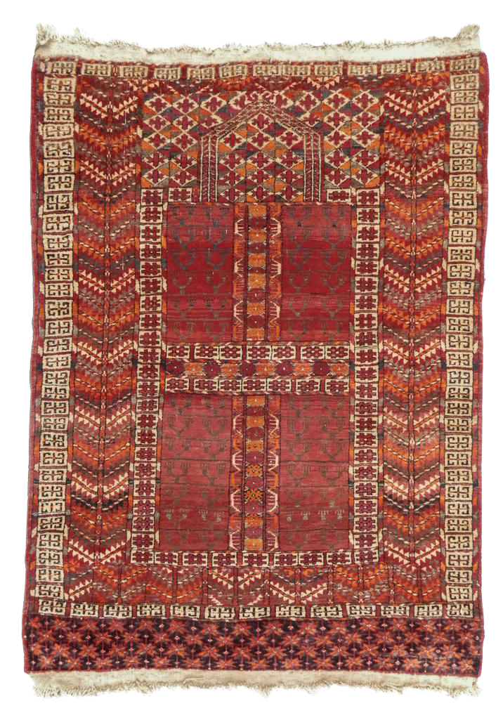 Turkmen Engsi Tent Rug - Image 1 of 1  sc 1 st  DECASO & Superb Turkmen Engsi Tent Rug | DECASO