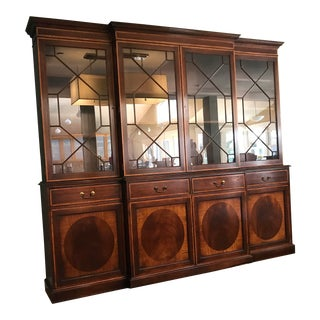 Antique Breakfront Cabinet For Sale