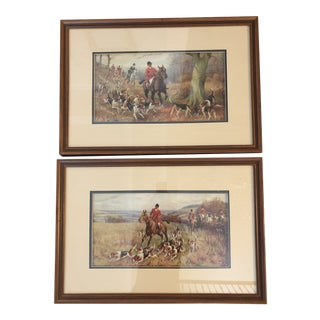 Late 20th Century Equestrian Framed Prints For Sale