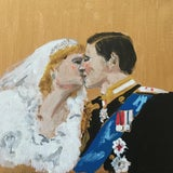 Image of Manuel Santelices, The Kiss , 2020, Unframed For Sale
