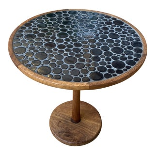Modern Martz Mosaic Top End Table For Sale