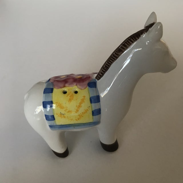 20th Century Folk Art Horse Salt and Pepper Set - 2 Pieces For Sale - Image 4 of 10