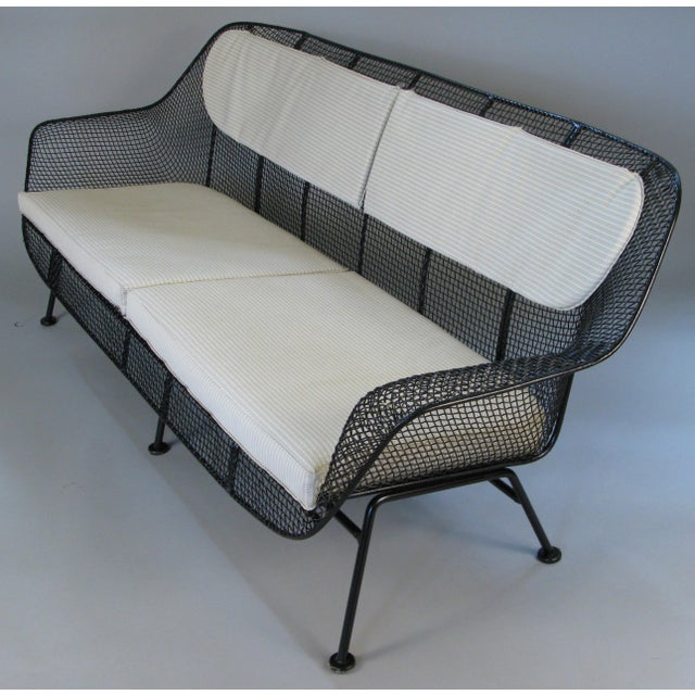 Black 1950s Sculptura Sofa by Russell Woodard For Sale - Image 8 of 10