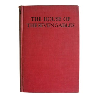 Vintage Mid-Century Nathaniel Hawthorne The House of Seven Gables Book For Sale