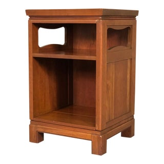 Crawford Furniture Mid-Century Modern Nightstand - Solid Wood