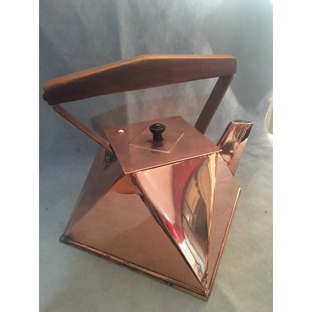 Cubist Copper Kettle For Sale - Image 10 of 10