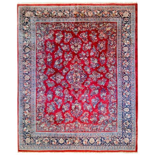 Beautiful Early 20th Century Sarouk Rug For Sale