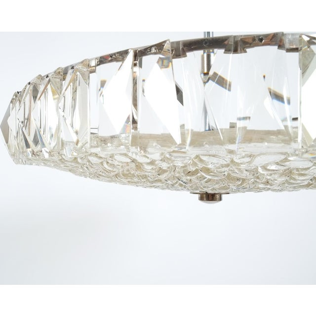Bakalowits & Sohne Beautiful Bakalowits Dome Crystal Glass Chandelier For Sale - Image 4 of 8