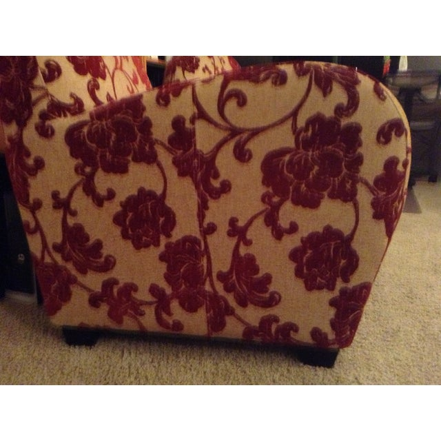 Art Deco Style Club Chairs - A Pair - Image 3 of 5