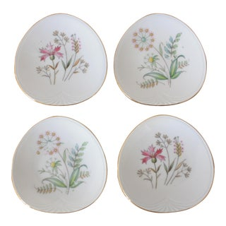 1950s German Butter Pats - Set of 4 For Sale