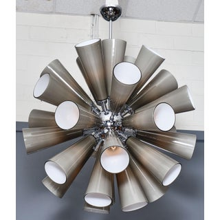 Murano Glass Gray Sputnik Chandelier Preview