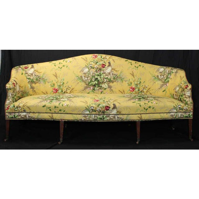 Yellow Early 19th Century Federal Sofa For Sale - Image 8 of 11