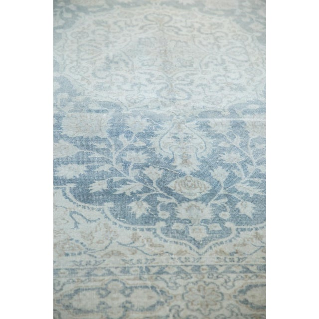"""Old New House Vintage Distressed Oushak Carpet - 6'6"""" X 9'7"""" For Sale - Image 4 of 13"""