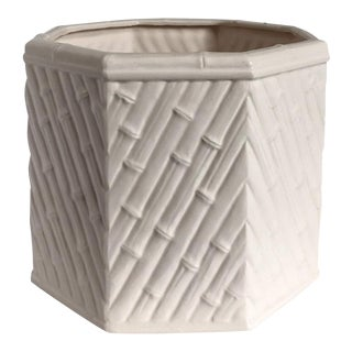 Fitz & Floyd Bamboo Cachepot For Sale