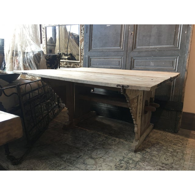 Antique Swiss Money Changing Table - Image 9 of 13