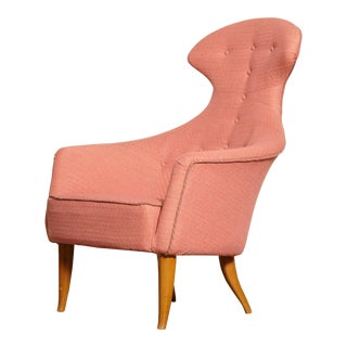 1950s Kerstin Horlin Holmquist Stora Eva Chair For Sale