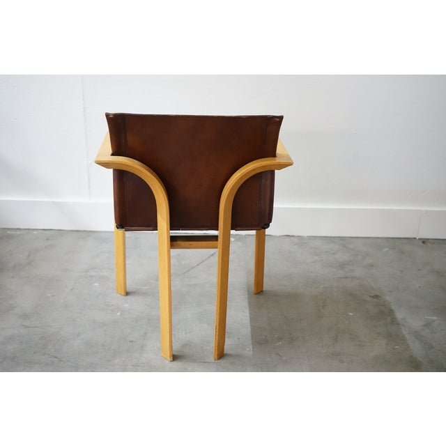 Mid-Century Arm Chairs, Sold as a Set For Sale - Image 4 of 8