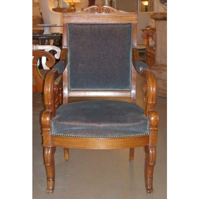 Restauration Period Armchair For Sale - Image 10 of 11