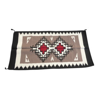 Southwestern Style Geometric Pattern Wool Blanket / Tapestry For Sale