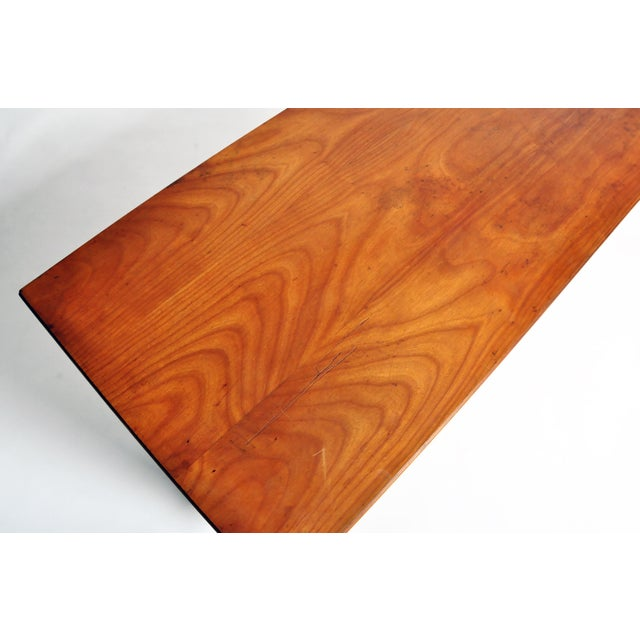 French Mid-Century Modern Walnut Veneer Sideboard For Sale - Image 11 of 13