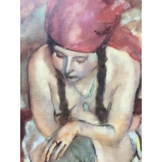 1954 Portfolio of 25 Color Stone Lithograph Prints by Jules Pascin For Sale