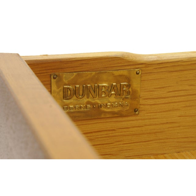 Gold Dunbar Mahogany and Brass Four Doors One Drawer Cabinet For Sale - Image 8 of 9