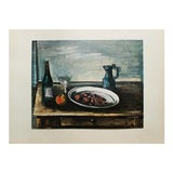 Image of 1930s Maurice Vlaminck, Still Life Original Period Swiss Lithograph For Sale