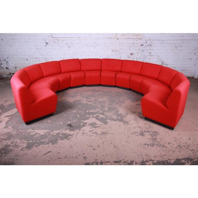 Contemporary John Mascheroni for Vecta Tappo Modular Sectional Sofa For Sale - Image 3 of 10