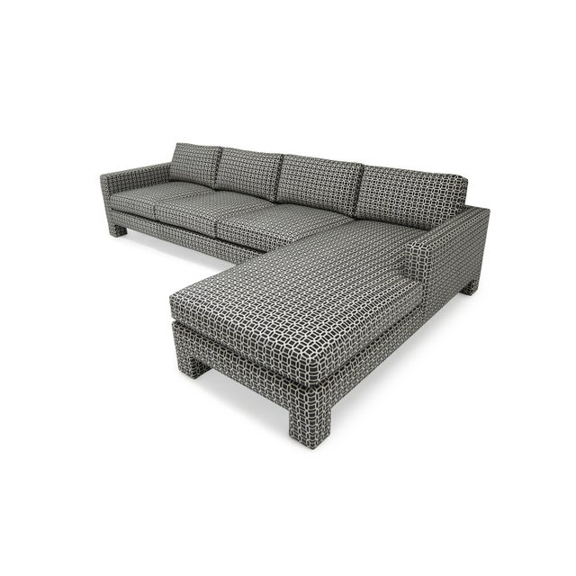 "Naula Spring Street Sectional ""Upholstered Legs"" For Sale - Image 4 of 8"