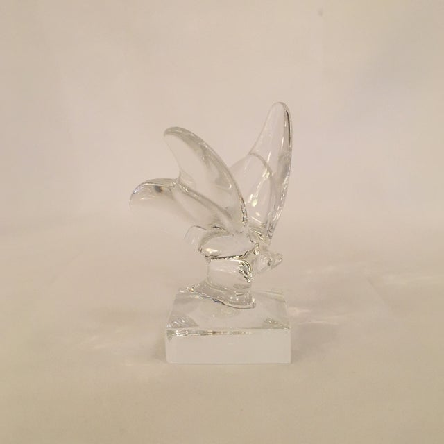 Baccarat Baccarat Butterfly Figurine For Sale - Image 4 of 7