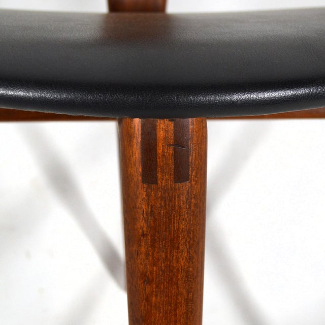 Erik Andersen and Palle Pedersen Pair of Rare Easy Chairs For Sale In Chicago - Image 6 of 12
