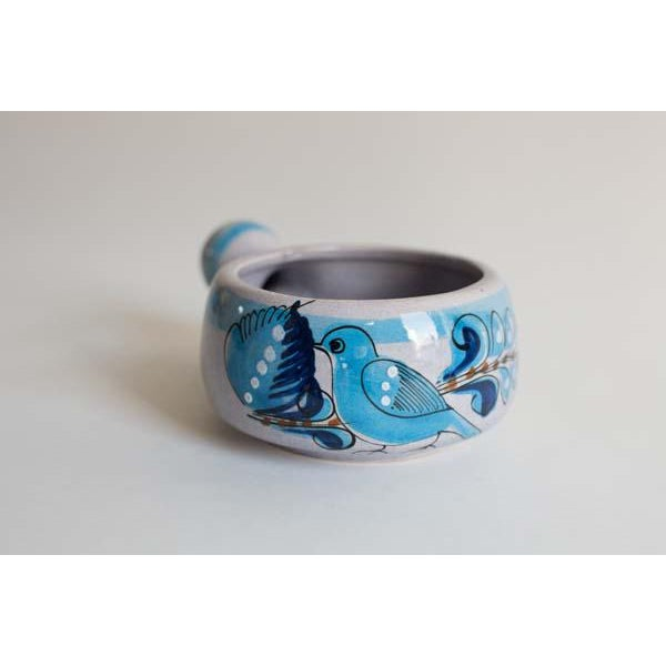 Rustic Mexican Bird Bowl For Sale - Image 3 of 3