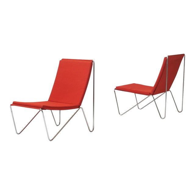 a pair of bachelor's chairs by Verner Panton For Sale