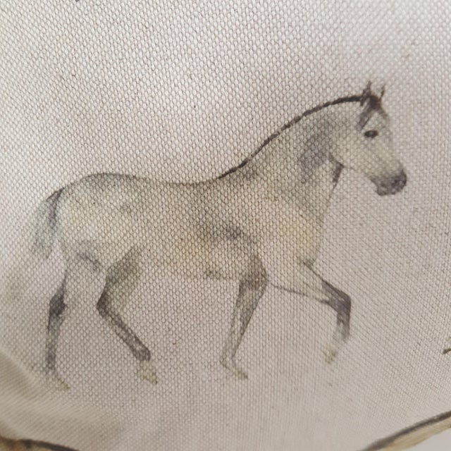 Horses Accent Pillow For Sale - Image 11 of 13