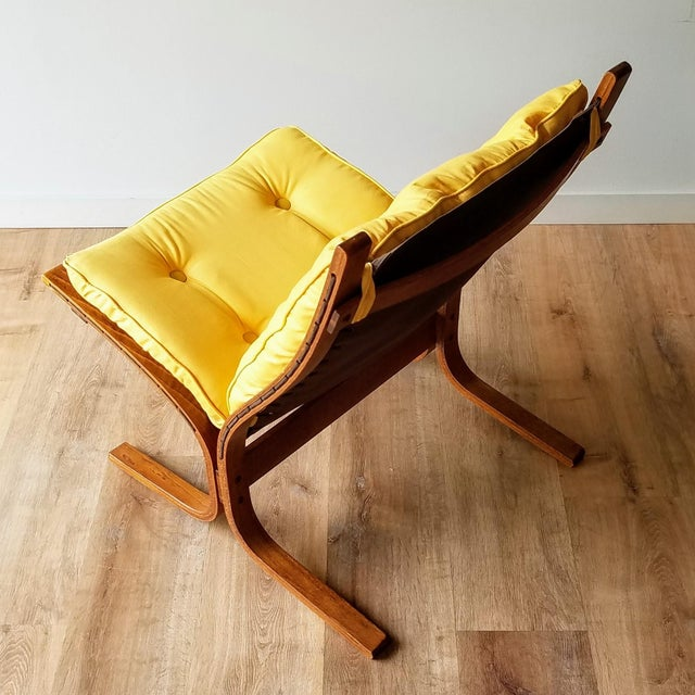 """1970s 1970s Ingmar Relling Newly Upholstered """"Seista"""" Chairs - a Pair For Sale - Image 5 of 13"""