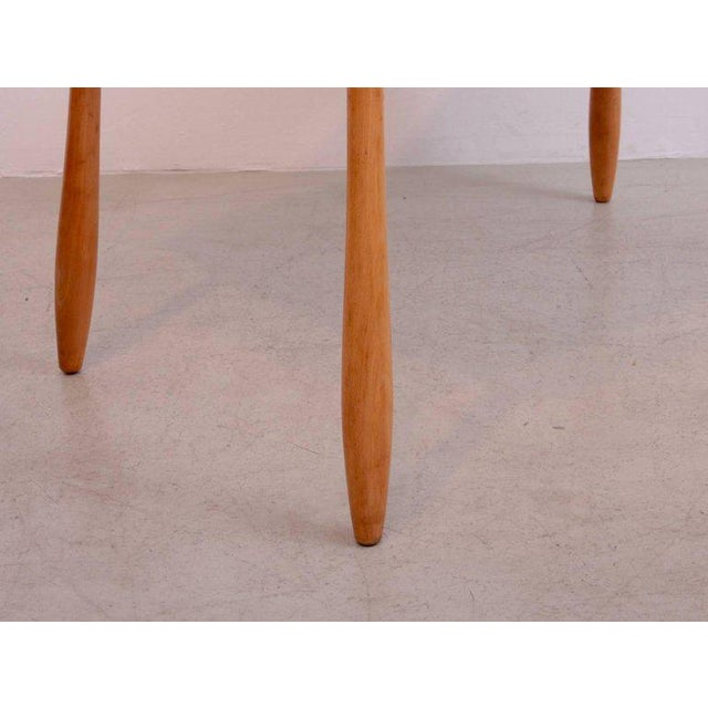 Arno Lambrecht Dining Set of Table, Three Chairs and a Bench for WK Mobel For Sale - Image 9 of 11