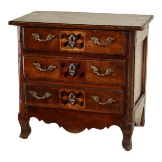 18th Century French Miniature Chest of Drawers For Sale