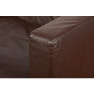 B&B Italia Contemporary Chocolate Brown Leather 'George' Sofa Preview