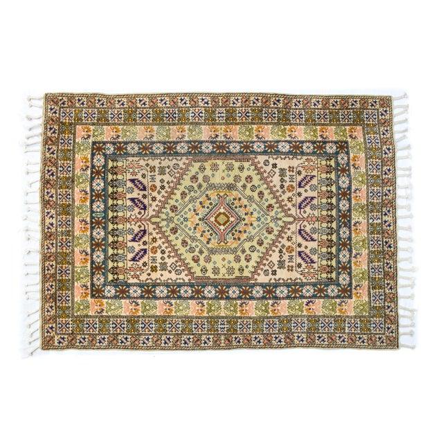 """Vintage Moroccan Rug 'Amina' - 4'9""""x6'8"""" - Image 2 of 6"""